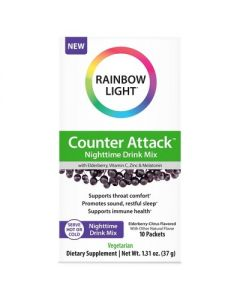 Rainbow Light Counter Attack Nighttime Drink Mix - 10ct