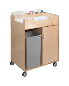 """Whitney Brothers WB0634 31 1/2"""" x 23 1/2"""" x 38"""" Easy Access Wood Changing Cabinet"""