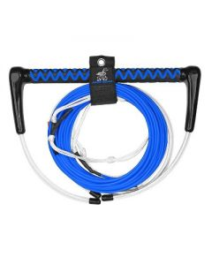 Airhead AHWR-7 Dyneema 70 Foot 4 Section Thermal Boat Wakeboard Tow Rope, Blue