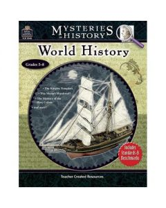 Teacher Created Resources Mysteries in History Series - World History Workbook