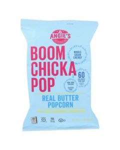 Angie's Kettle Corn Popcorn - Boom Chicka Pop - Real Butter - Case Of 12 - 4.4 Oz