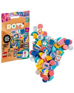 LEGO DOTS Extra DOTS - Series 2 Easy DIY Arts and Crafts Decorations Bracelet Making Kit for Kids 41916