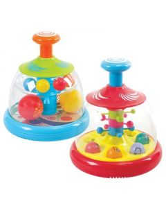 Kaplan Early Learning Popping and Tumbling Spinning Ball Domes