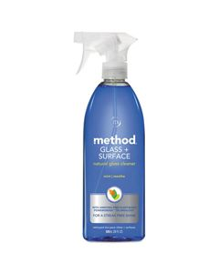 Method Products Glass & Surface Cleaner, Mint, 28 oz Bottle