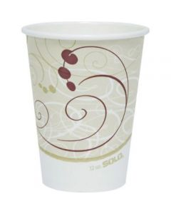 Solo Single-sided Poly Hot Cups