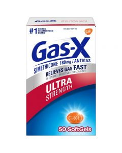 Gas-X Ultra Strength Softgel for Gas Relief - 50ct