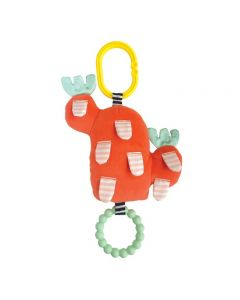 Manhattan Toy Cactus Garden Bloom + Bite BPA-Free Baby Toy with Silicone Teether