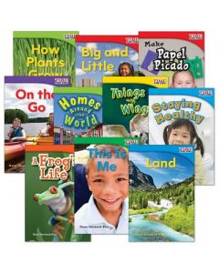 Shell Education TIME FOR KIDS Nonfiction Readers Grade 1 Set 1 - 10-Book Set