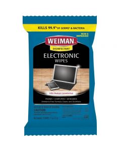 Weiman Disinfectant Electronic Wipes - 15ct/2.7oz